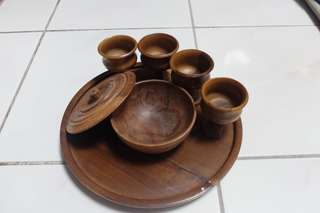 Vintage Teak Wood Collectibles