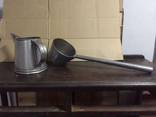 Kopitiam kettle and scoop