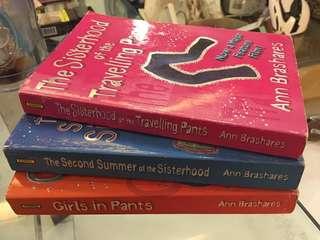 Sisterhood of the Travelling Pants Trilogy