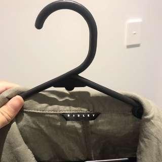 Khaki outerwear