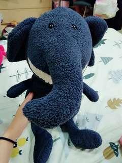 🚚 大牙娃娃 大象 (約40公分,不含腳)