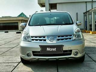 Nissan grand Livina XV 1.5 / at 2011 bayar 9 jt