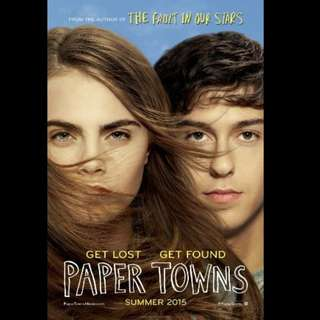 [Rent-A-Movie] PAPER TOWNS (2015)