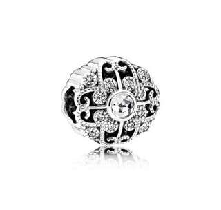 Genuine Pandora Fairytale Bloom Openwork Charm NEW Free Shipping