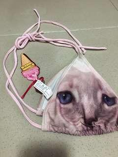 cat print swisuit