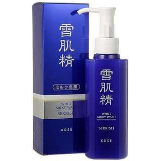 Kose white liquid wash