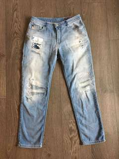 Diesel Rizzo Super Soft Ripped Jeans Size 27