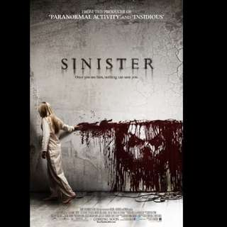 [Rent-A-Movie] SINISTER (2012)