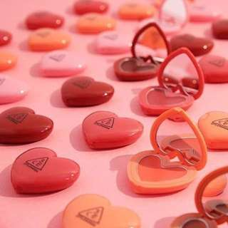[PO]3CE Stylenanda Heart Pot Lip