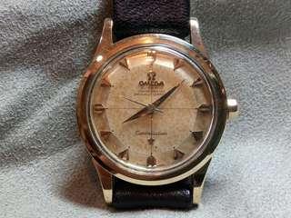 亞米加60年代包金古董錶