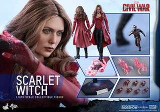 徵 hot toys MMS370 Scarlet Witch civil war 緋紅女巫