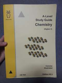 A level H2 chemistry study guide
