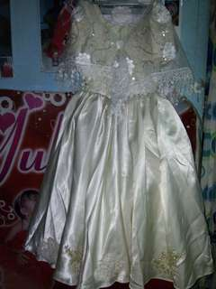 Filipiñana Costume 4-6 yrs old