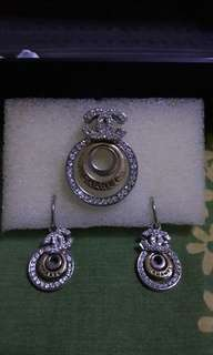 Unused Hi-Quality Chanel Earring with Pendant