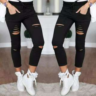 Summer skinny jeans