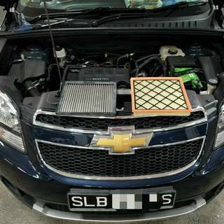Chevrolet Orlando 1.4t Hurricane Air Filter