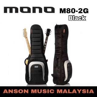 Mono M80-2G Dual Electric Guitar Case, Black