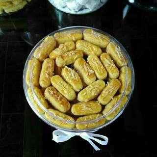 Kue Kering Cookies Keju Kastangel Lebaran Idul Fitri Enak Murah Bandung Kastengel