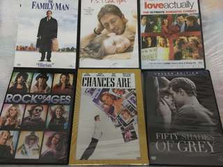 6 Original DVDs (Romance and Comedy Package)