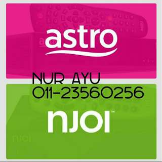 Pemasangan Astro