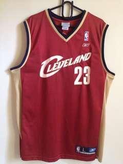 REEBOK Cleveland Cavaliers Lebron James jersey
