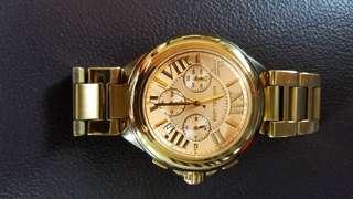 Oversized MK Watch