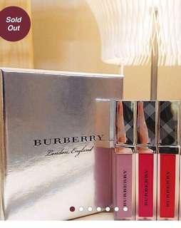Burberry lip velvet (LIMITED EDITION)