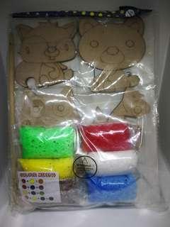 Foam Clay Magnet Kit