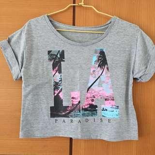 LA paradise寬版上衣
