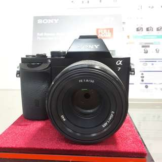 Kamera Sony Alpha 7 Full Frame (Kredit DP 0%)