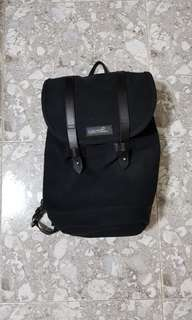 superdry nikoli black backpack