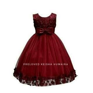 GIRL PARTY GOWN / DRESS