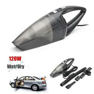 New Model 12V 120W Handheld Wet & Dry Vacuum Cleaner For Car