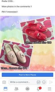 Korean fashion girl shoes