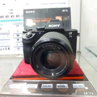 Kamera Sony Alpha 7 Mark ll Kredit MURAH