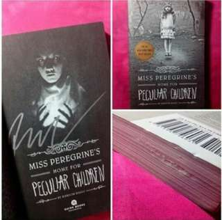 SIGNED Miss Peregrines Home for Peculiar children