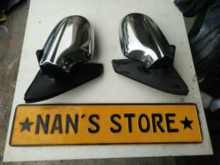 Japan Mira L7 Chrome side mirror for Kelisa