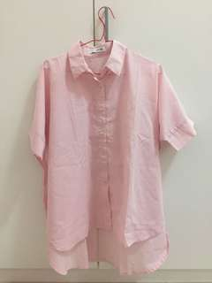 Cotton Ink Pink Shirt all size