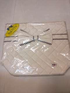 Naraya 米色蝴蝶袋