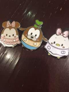迪士尼徽章 迪士尼襟章 Disney pins for trade only