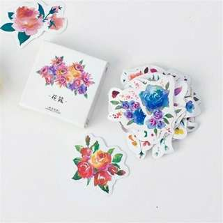 Flower Plant Label Stickers Stationery