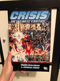 DC Crisis on infinite earths