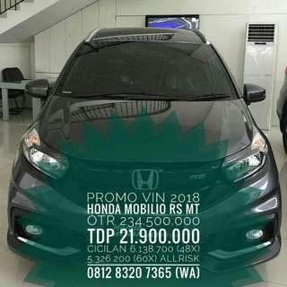PROMO HONDA MOBILIO 1.5 RS MANUAL 2018