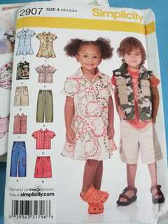 Various sewing patterns