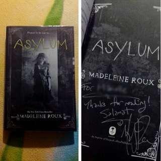 SIGNED Asylum by Madeleine Roux
