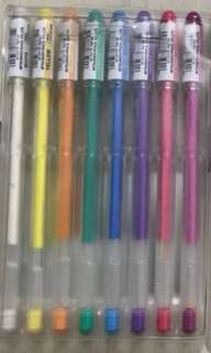 Uniball Signo Angelic colour pens