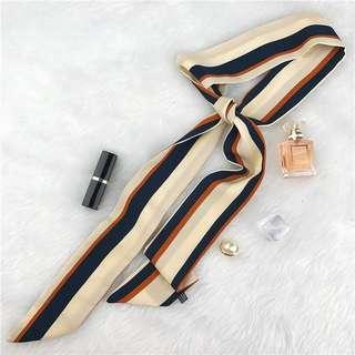 Brand New Retro Boho Long Skinny Decorative Scarf for Head / Bag / Neck