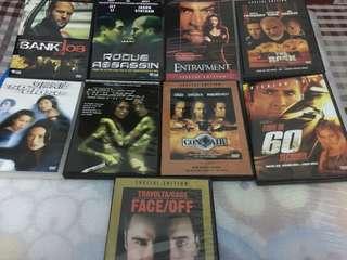 9 Original DVDs (Action Package)