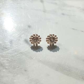 Korean Fashion Gold Earrings