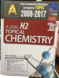 H2 ALEVEL TOPICAL TYS